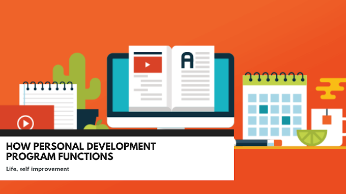 How personal development program functions