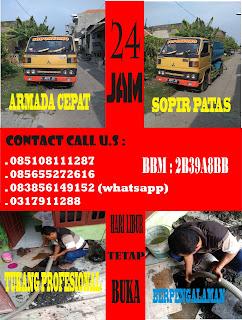Sedot WC Kalilom Lor Indah Surabaya, 085108111287