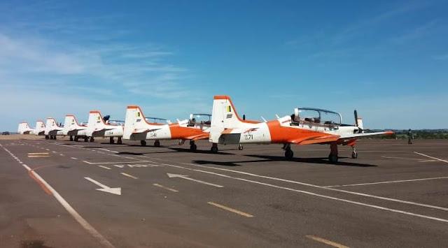 Aviões da Força Aérea Brasileira pousam em Presidente Prudente - Adamantina Notìcias