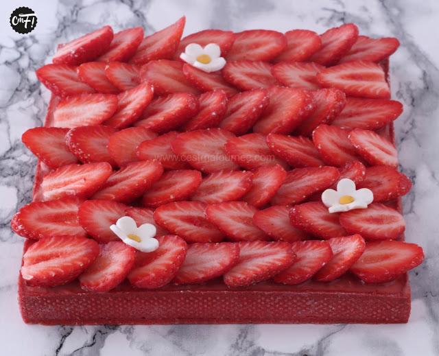 tarte aux fraises HUGO ET VICTOR