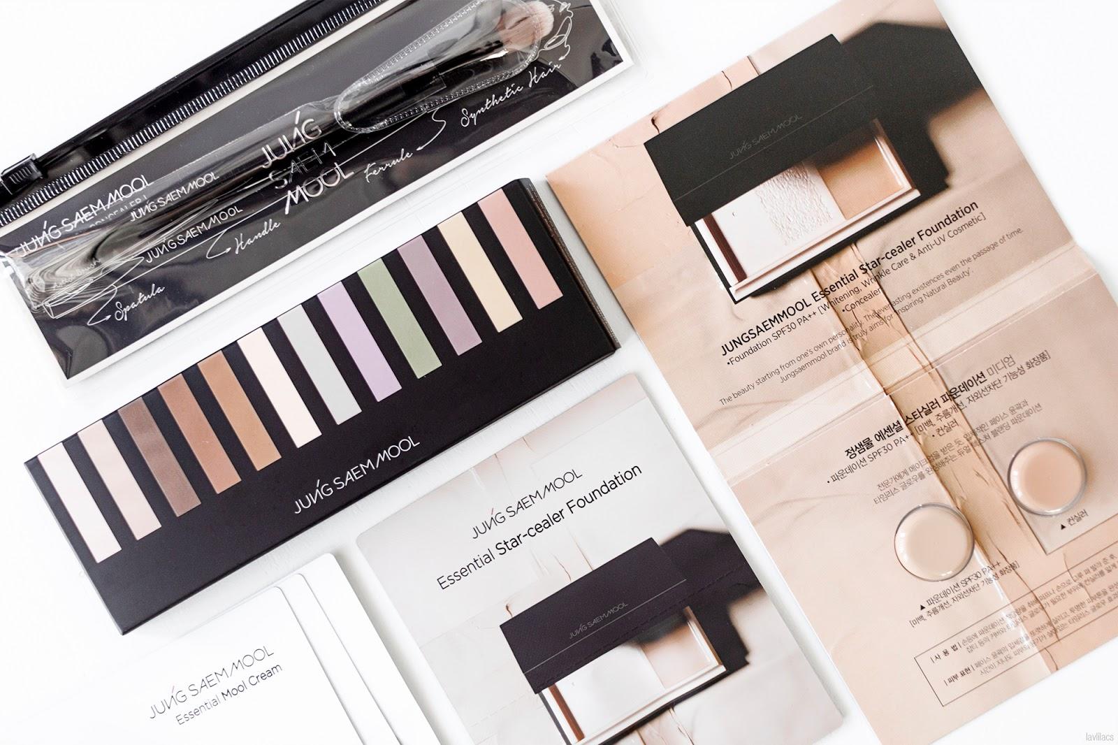 lavlilacs April 2017 haul - Global Lotte Jungsaemmool makeup order