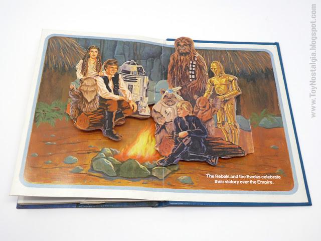 The Return Of the JEDI - A Pop Up book  1983 - Random House  Ib Penick