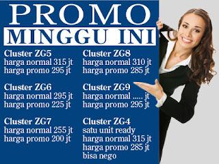 Rumah Dijual Citayam Promo Cluster Citayam Promo