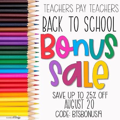Teachers Pay Teachers Boost Sale #tptbonus19
