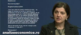 Raluca Prună atacă votanții PSD