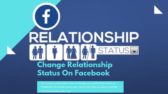Changing Relationship Status On Facebook<br/>