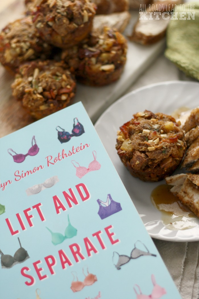Apple Cinnamon Stuffing Muffins inspired by Lift And Separate