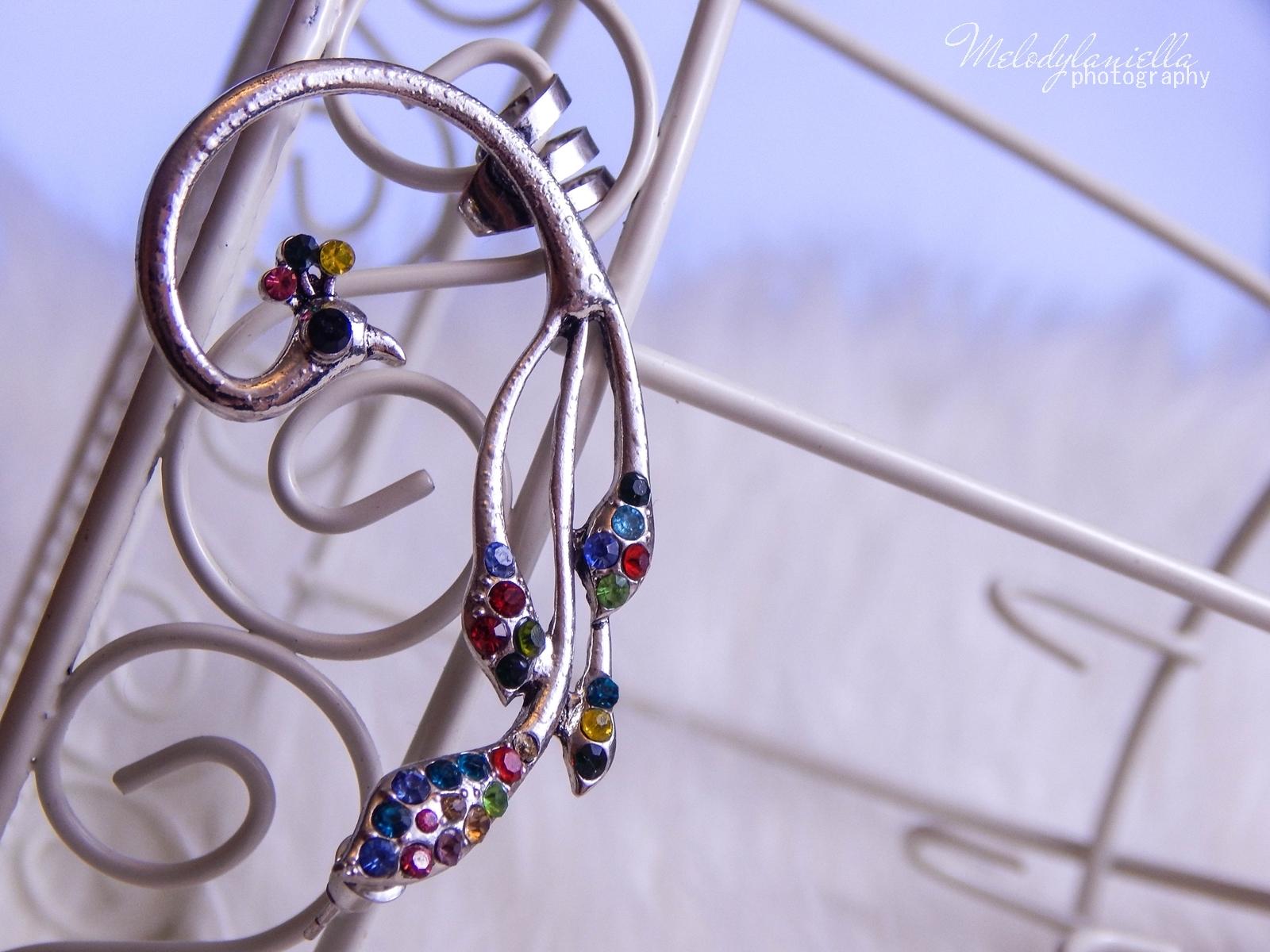 2 Biżuteria z chińskich sklepów sammydress kolczyk nausznica naszyjnik wisiorki z kryształkiem świąteczna biżuteria ciekawe dodatki stylowe zegarki pióra choker chokery złoty srebrny złoto srebro obelisk