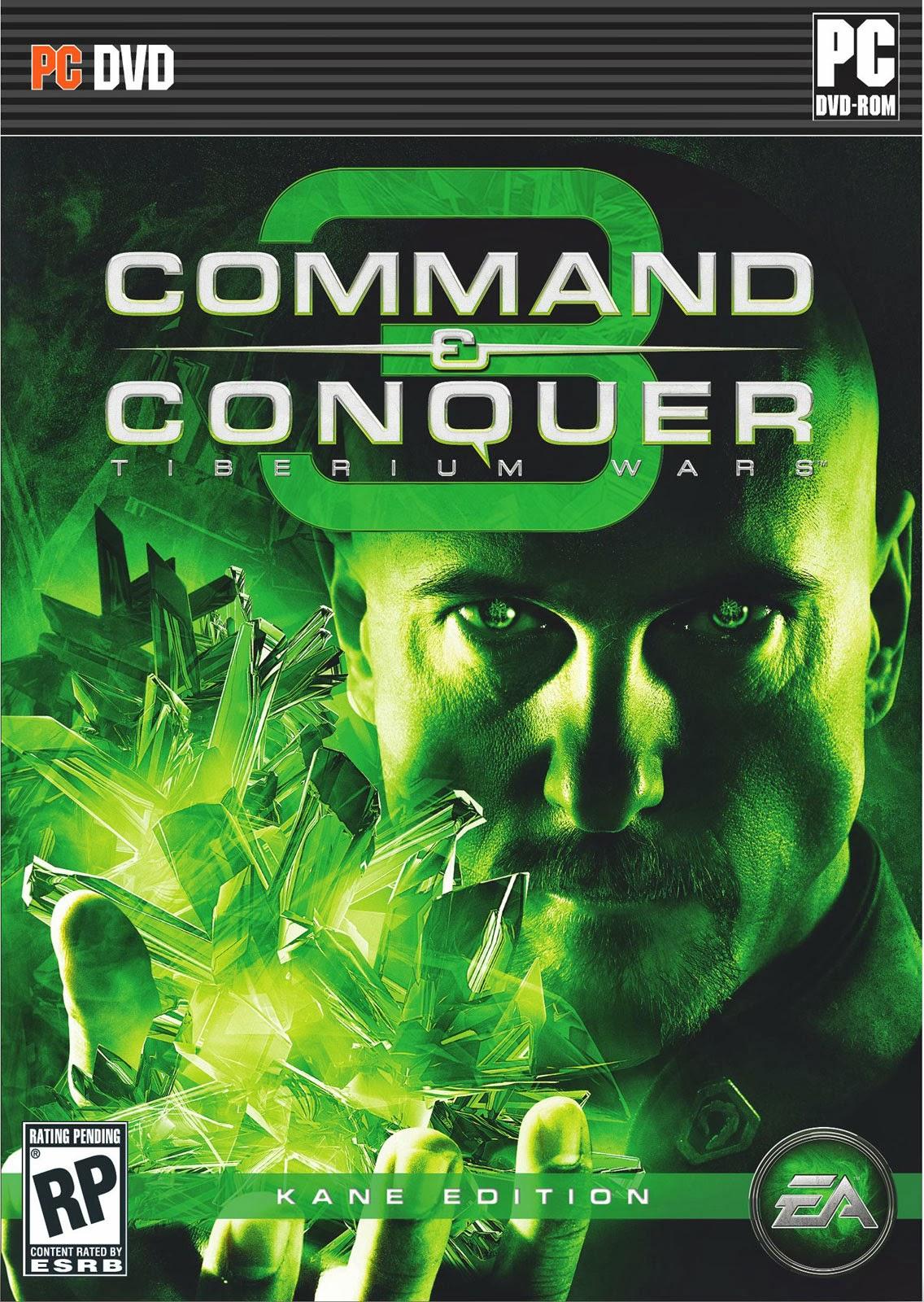 Command & Conquer 3 Tiberium Wars Kane