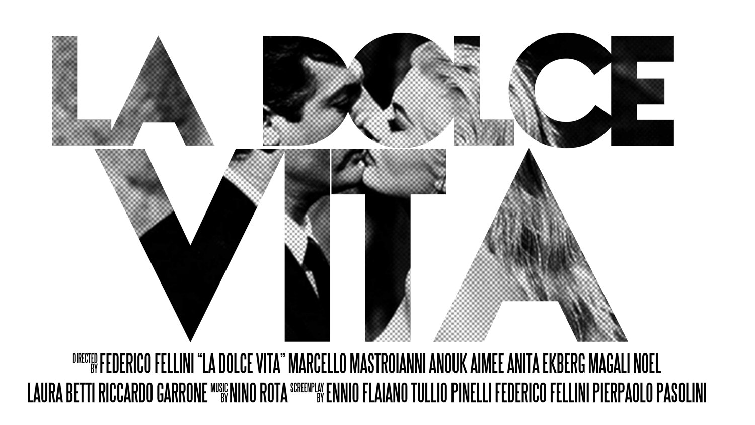 The One Movie Blog La Dolce Vita 1960 Analysis