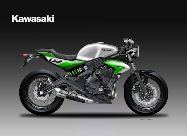 Kawasaki ER-6 Scrumbler