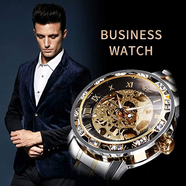 Top 10 Best Mechanical Automatic Self-Winding Wrist Watches for Men in 2020 Reviews |Guide