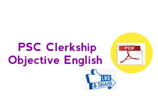 PSC Clerkship Objective  English PDF Book Download