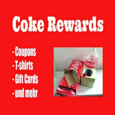 Coke Codes eingeben und Gift Cards und mehr erhalten