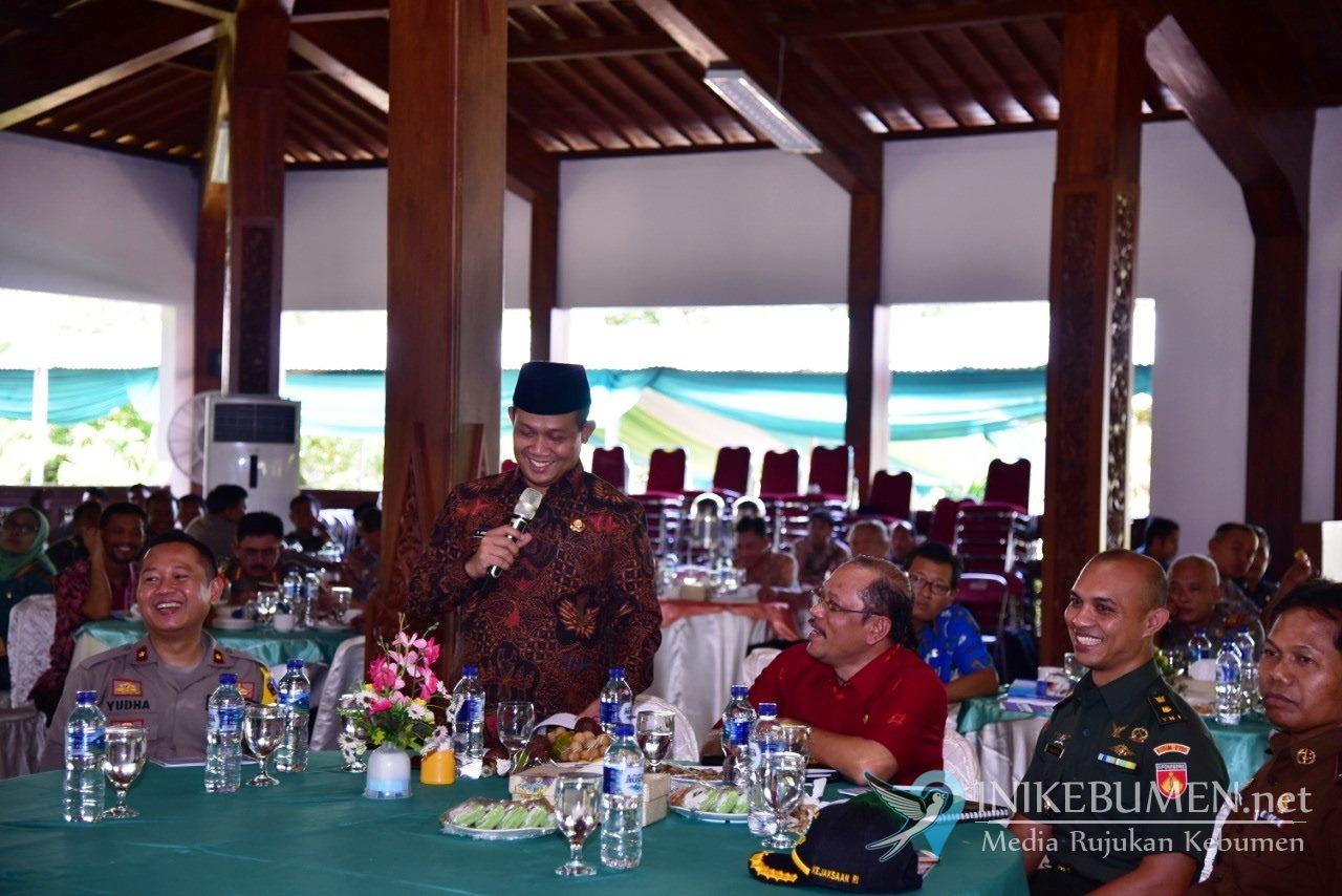 Hari Pertama Kerja sebagai Wabup Kebumen, Arif Sugiyanto Langsung Buka Rakor Ekuinda