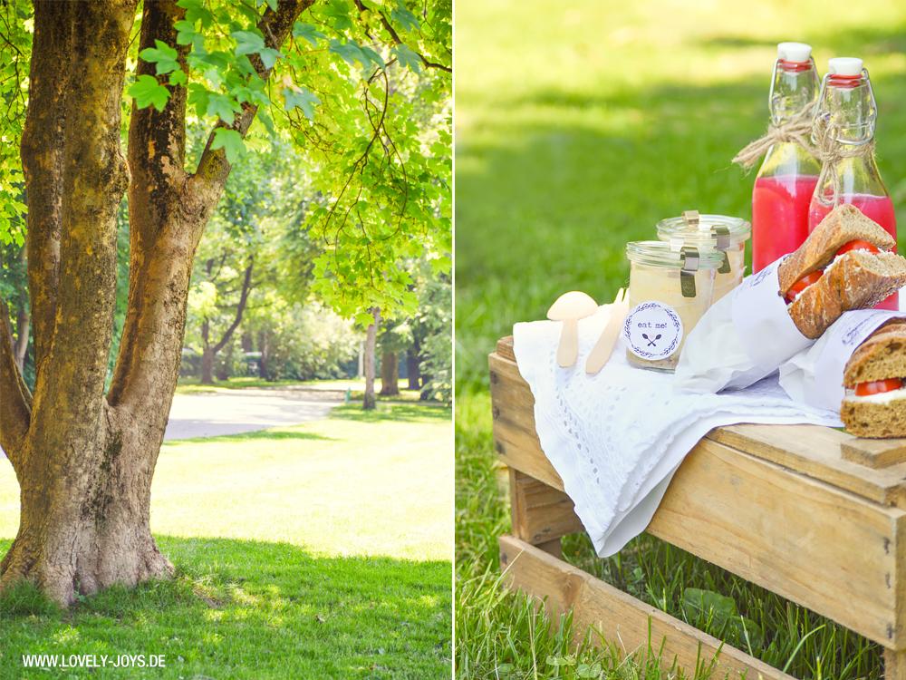 Weinkisten Picknick Rezepte Wald