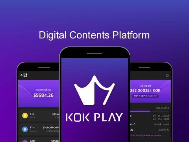 KOK PLAY - Blockchain AI - Daily Rewards