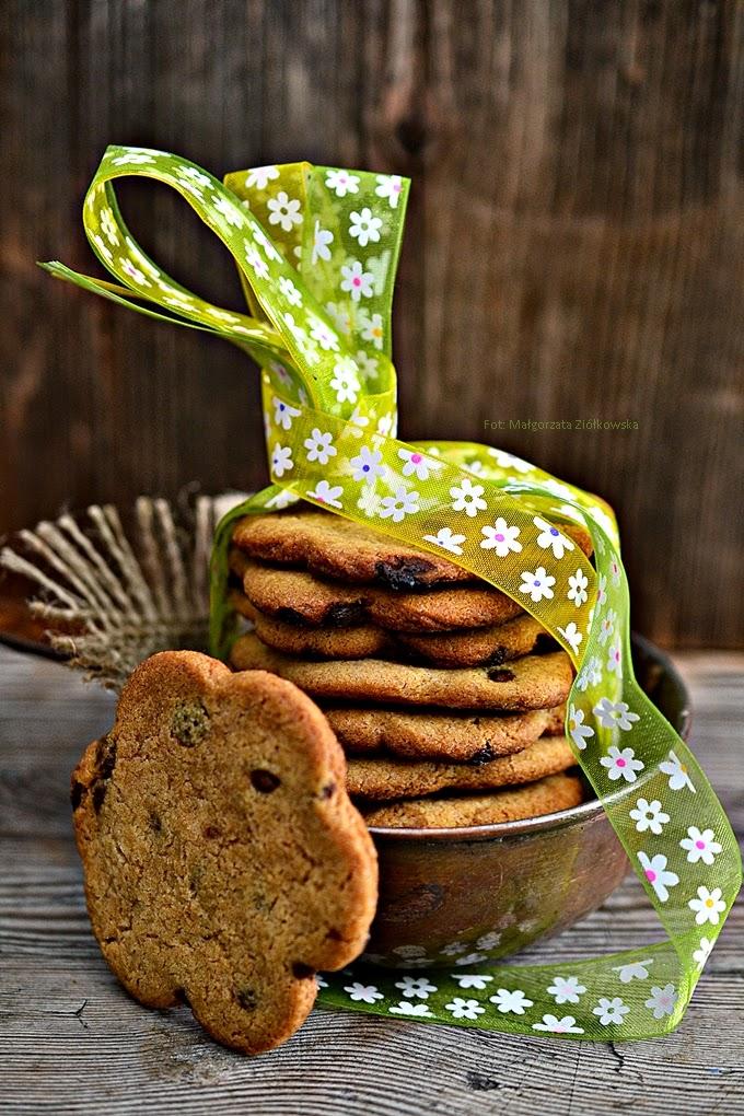 Sezamowe ciasteczka z czekoladą