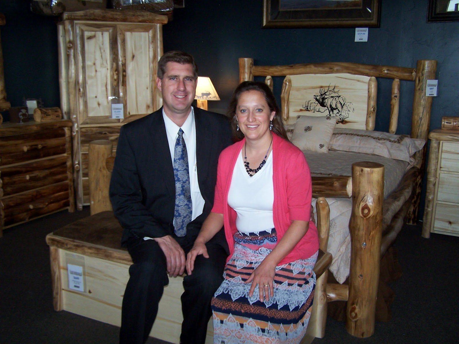 On June 22 2017 Alamosa Business Owners Randy And Micah Jackson Of Rustic Log Furniture Were Recognized In Denver As One Colorado S Companies To Watch