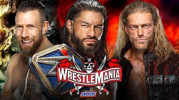 عرض راسلمينيا 37 الليلة الثانية مترجم كامل WWE WrestleMania 37 Night 2