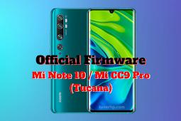 Firmware Mi Note 10 (Tucana)