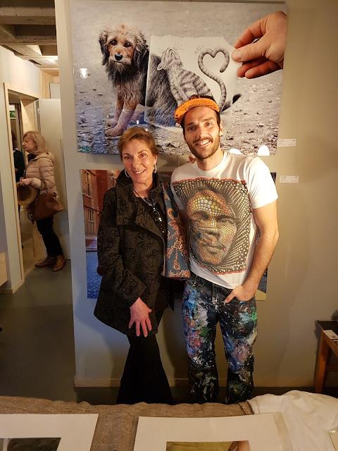 Cathy Lebizay et Ben Heine