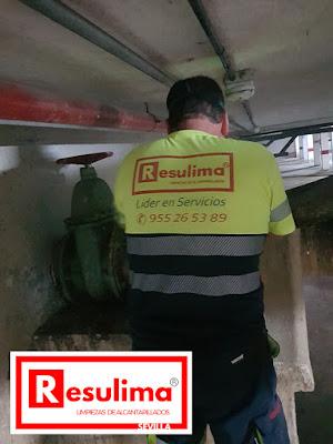 Empresa de limpieza de alcantarillado Sevilla