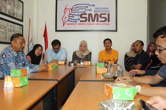 Tingkatkan Sinergi Pembangunan Bengkulu, Pemprov Kunjungi Serikat Media Online