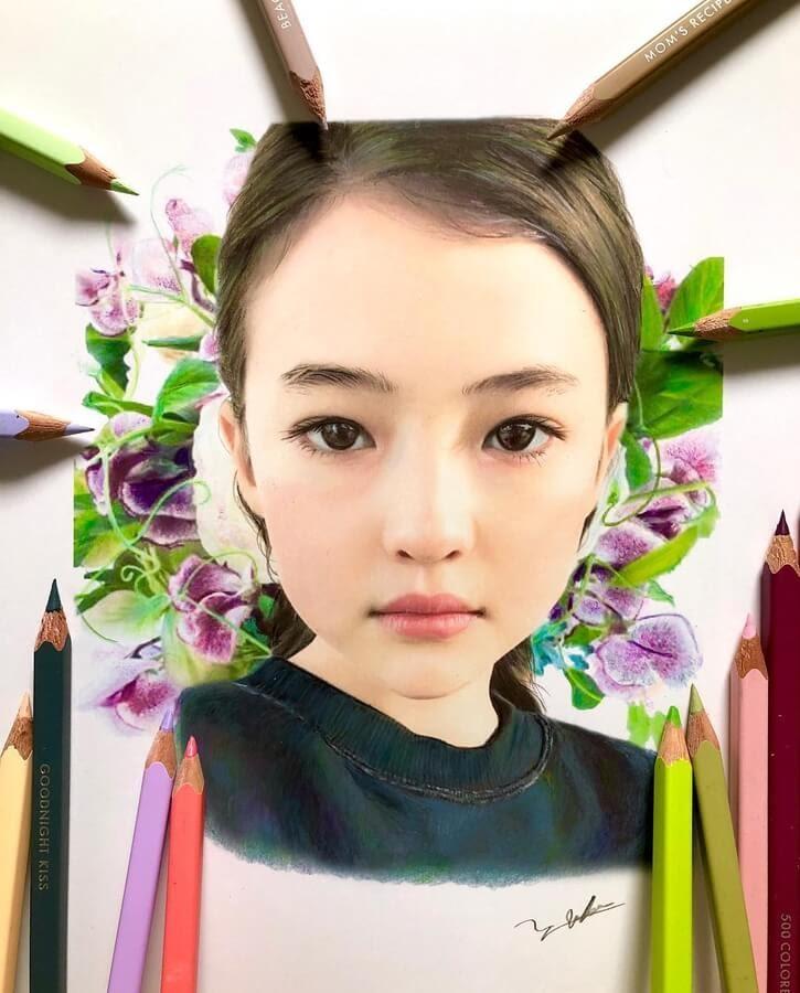04-Colorful-portrait-Yuko-Makimura-まきむらゆうこ-www-designstack-co