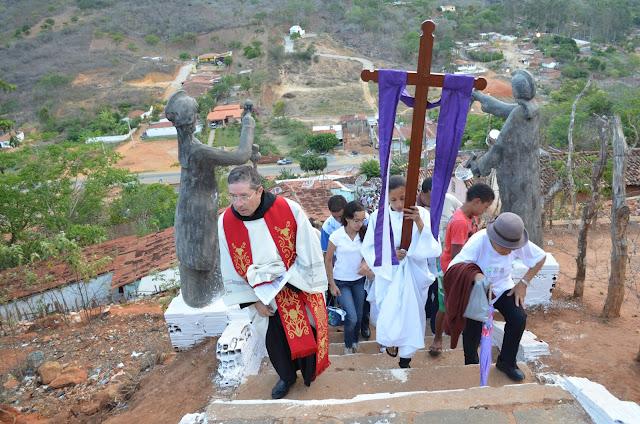 Resultado de imagem para via sacra cruzeiro taquaritinga
