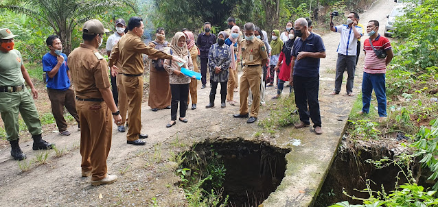 Ridho Yahya Gerak Cepat Respon Keluhan Masyarakat Soal Infrastuktur Rusak.