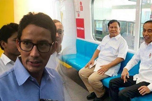 Sandi ke Relawan 02: Jangan Marah pada Pak Prabowo