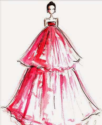 Diary Sketches From Grammy Award Night 2015 Fashion Blog By Apparel Search