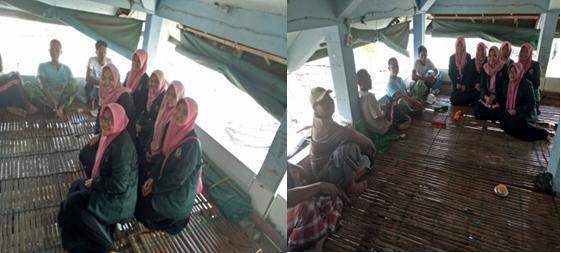 Gambar 2. Foto Bersama Dengan Para Nelayan