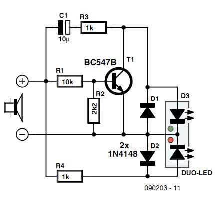 Audio Power Meter Circuit Diagram | Electronic Circuits