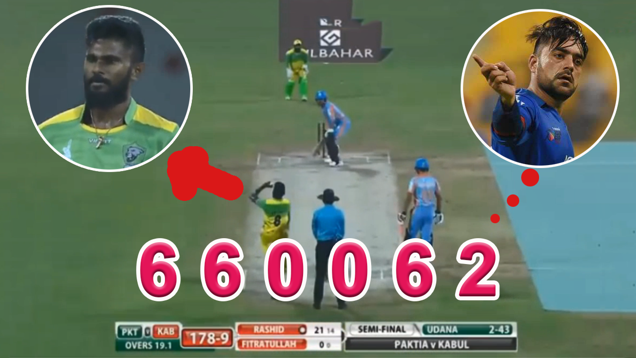 APL T20 Paktia Panthers vs Kabul Zwanan Rashid Khan Hitting Brutal SIX's Off!  Isuru udana 20 Of 6 B
