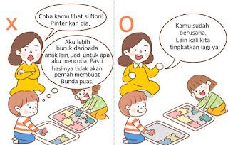 Jangan Membandingkan Anak dengan Orang Lain
