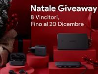 Aukey Italia Concorso di Natale 2020 : vinci gratis cuffie bluetooth, caricabatterie da muro, powerbank o hub USB C.