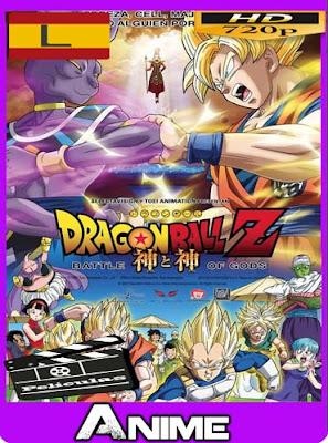 Dragon Ball Z La Batalla de Los Dioses (2013)HD [720P] Latino [GoogleDrive-Mega]dizonHD
