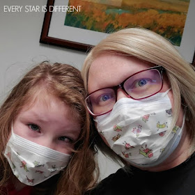 Sunshine and Mommy being diagnosed with the flu