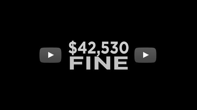 YouTube İçerik Üreticilerine  42.530$ Ceza Kesecek