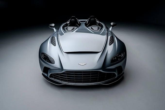 Aston Martin V12 Speedster (F/A-18 on wheels)