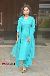 Tamil Actress Preethi Stills in Green Salwar Kameez at Kuzhalosai 2nd Anniversary Fund Raising Event  0044.jpg