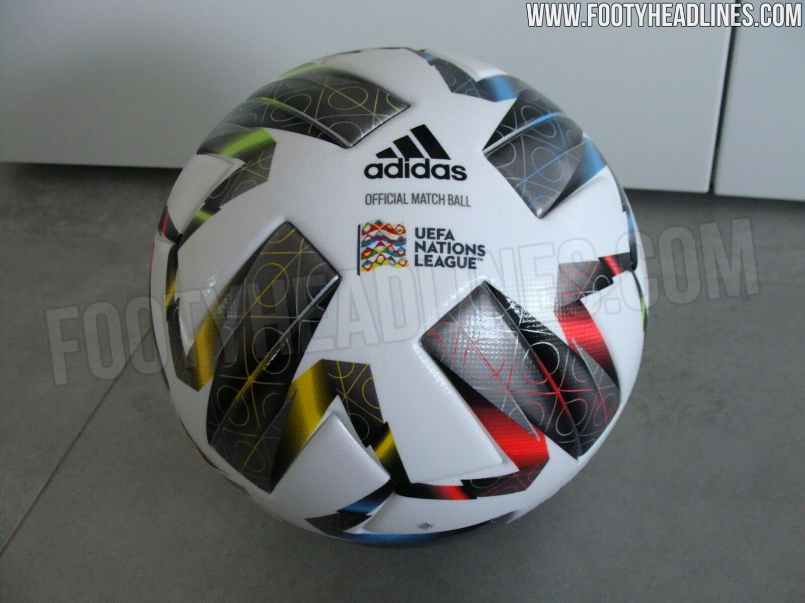 Adidas UEFA Nations League 2020-2021 Ball Leaked - Footy ...