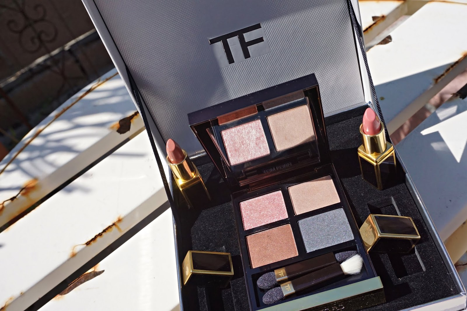nordstrom anniversary sale Tom Ford eye quad swatches