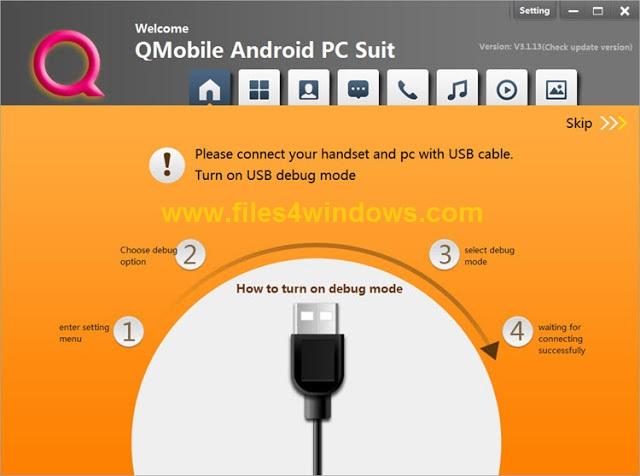 QMobile-PC-Suite-Download