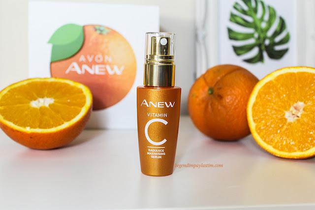 Avon Anew Vitamin C Serum -Bendeki Etkileri
