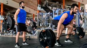 Deadlift con barra para ectomorfos