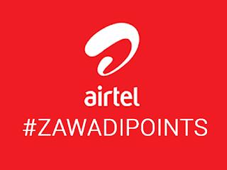airtel zawadi points