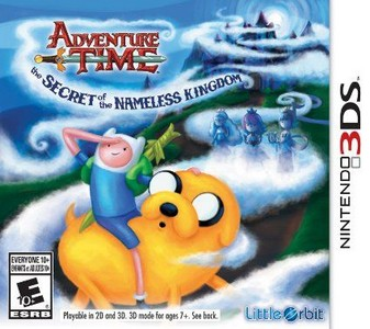 Rom Adventure Time The Secret of the Nameless Kingdom 3DS